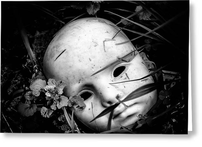 Masked Greeting Card by Arne Hansen