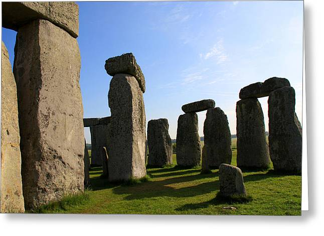 Photoshop Elements 7 Greeting Cards - Massive Stones Greeting Card by Kamil Swiatek