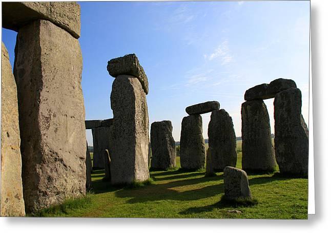 Massive Stones Greeting Card by Kamil Swiatek