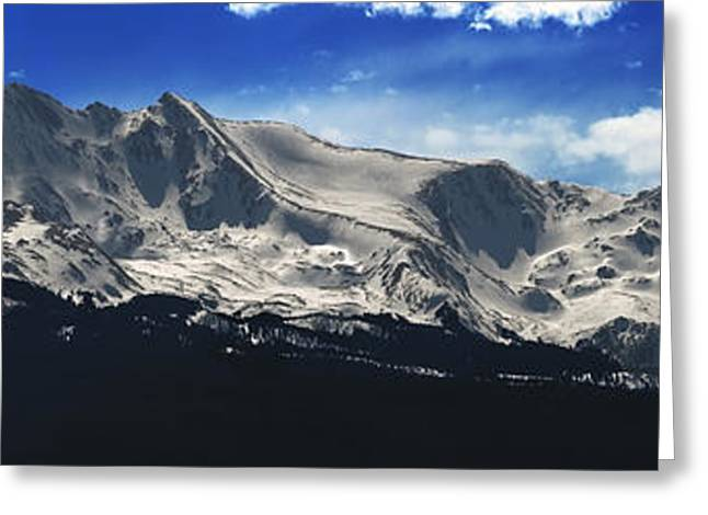 Mt. Massive Greeting Cards - Massive View Greeting Card by Darryl Gallegos