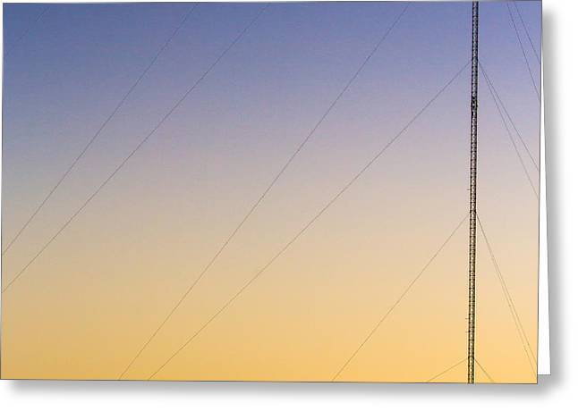 Mast And Deer Greeting Card by Eric Sloan