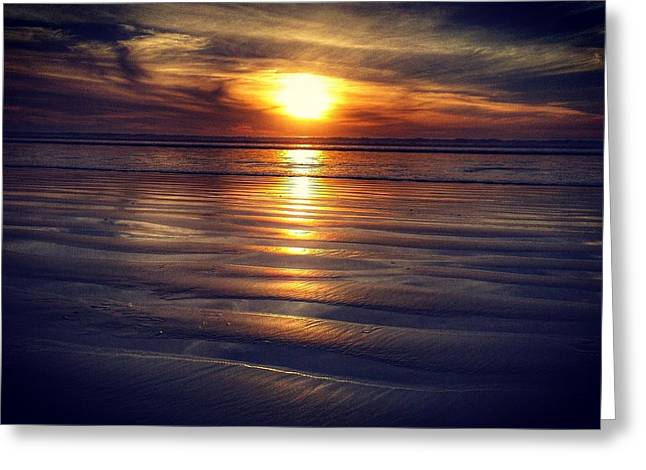 Beach Photography Greeting Cards - Master Piece Greeting Card by Luis  Abelino