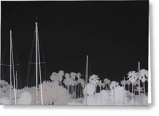 Masts Greeting Cards - Masts Greeting Card by Dana Patterson
