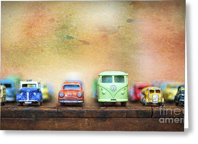 Matchbox Toys Greeting Card by Tim Gainey