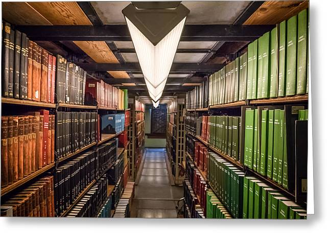 Altgeld Hall Greeting Cards - Mathematics Library - UI0056 Greeting Card by Michael Buras