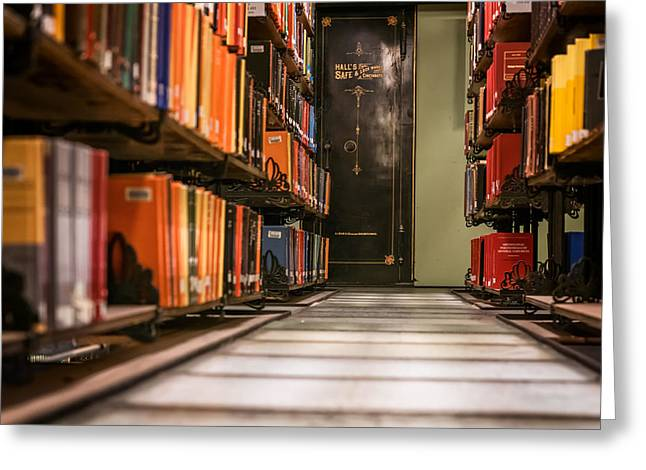 Altgeld Hall Greeting Cards - Mathematics Library - UI0058 Greeting Card by Michael Buras