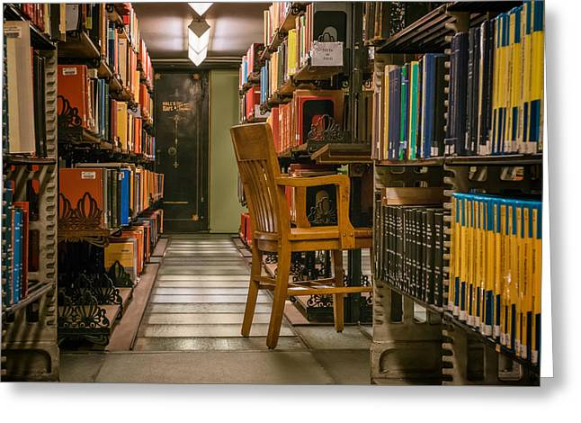 Altgeld Hall Greeting Cards - Mathematics Library - UI0059 Greeting Card by Michael Buras
