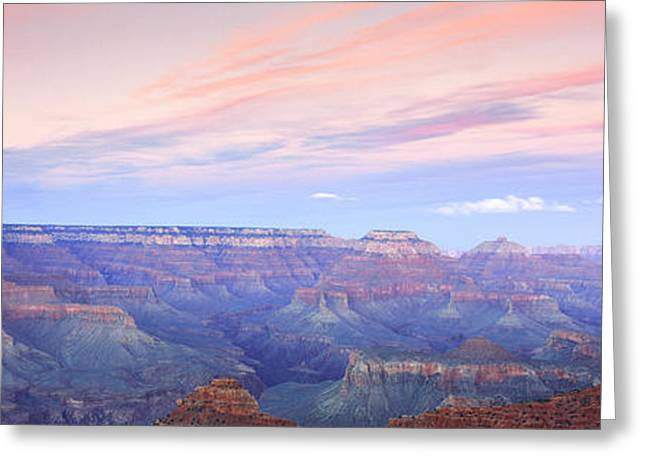 Mather Greeting Cards - Mather Point, Grand Canyon, Arizona Greeting Card by Panoramic Images