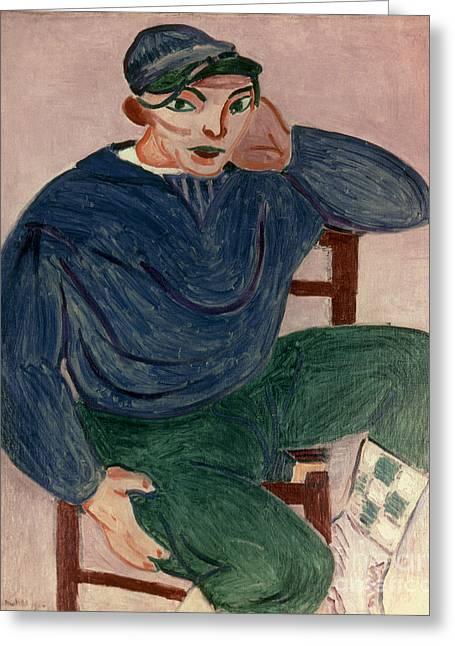 Henri Matisse Greeting Cards - Matisse Sailor Ii 1906 Greeting Card by Granger