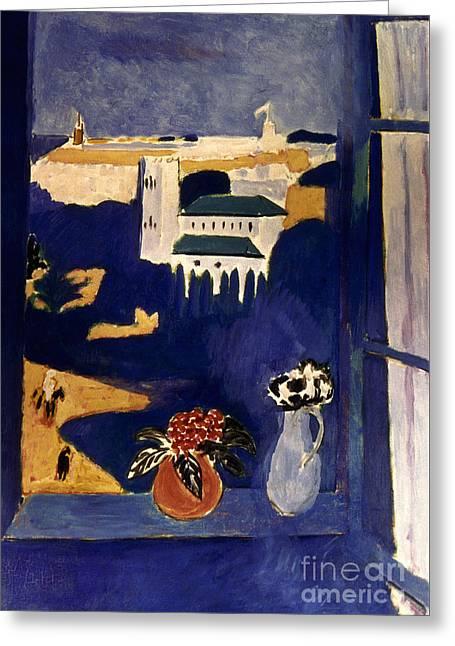 Matisse Greeting Cards - Matisse Tangier 1912 Greeting Card by Granger