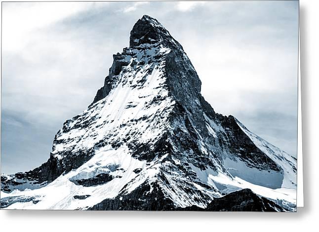 Matterhorn Greeting Card by Design Turnpike