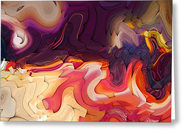 Beige Abstract Greeting Cards - Matthew 7 7. Ask Seek Knock Greeting Card by Mark Lawrence