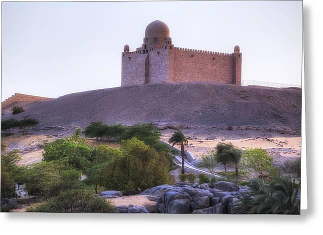 Nils Greeting Cards - Mausoleum of Aga Khan - Egypt Greeting Card by Joana Kruse
