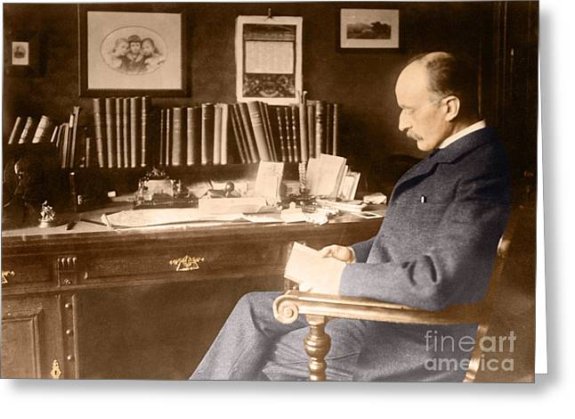 Max Planck, German Physicist Greeting Card by Science Source