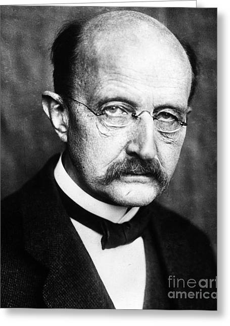 Max Planck  Greeting Card by Granger