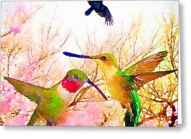 Pairs Greeting Cards - May Afternoon Greeting Card by Melissa D