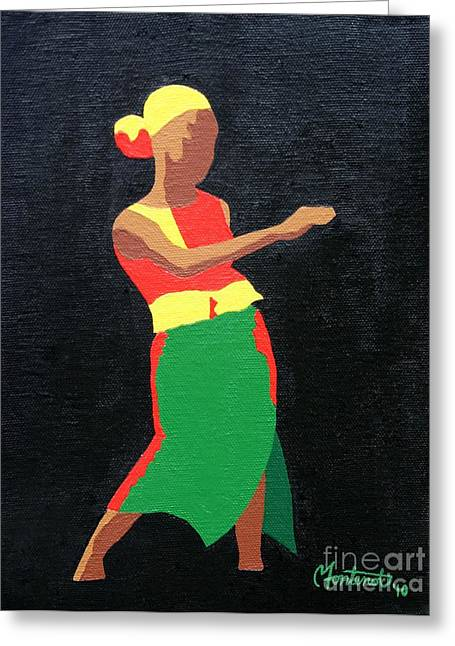 Mbili Greeting Card by Christine Fontenot