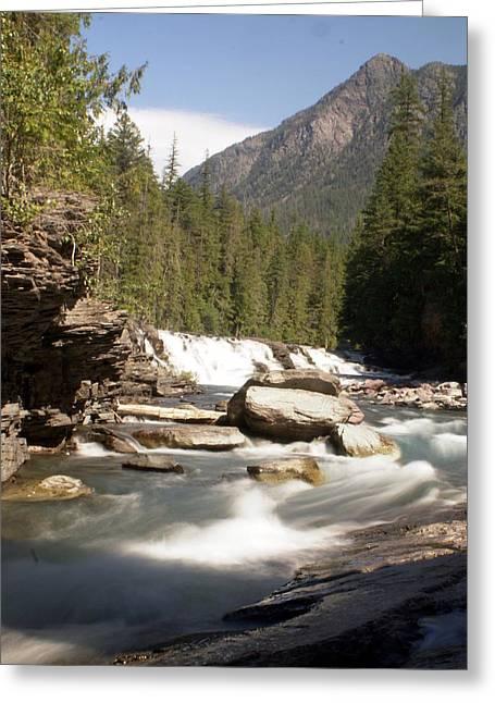 Mcdonald Creek 2 Greeting Card by Marty Koch