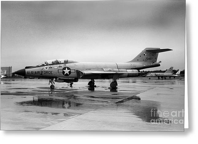 F-101 Greeting Cards - McDonnell F101 Voodoo USAF Greeting Card by Wernher Krutein
