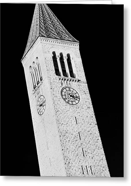 Mcgraw Tower #2 Greeting Card by Stephen Stookey