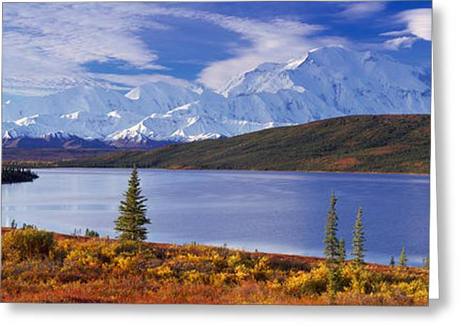 Denali National Park Greeting Cards - Mckinley River Denali National Park Ak Greeting Card by Panoramic Images