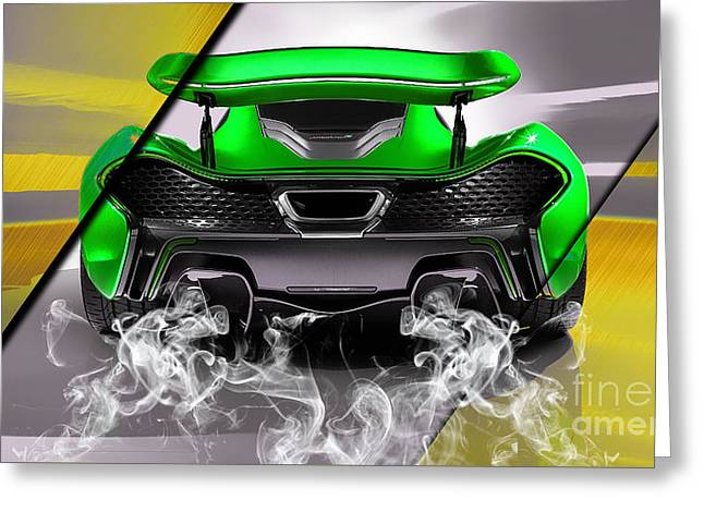 Mclaren P1 Collection Greeting Card by Marvin Blaine