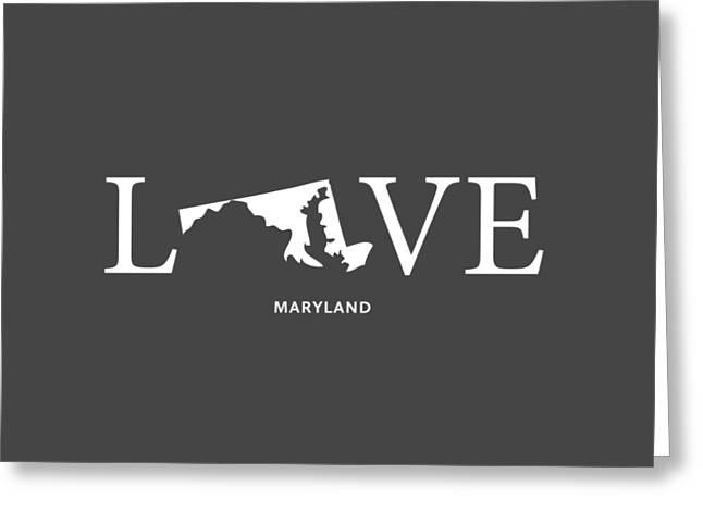 Md Love Greeting Card by Nancy Ingersoll
