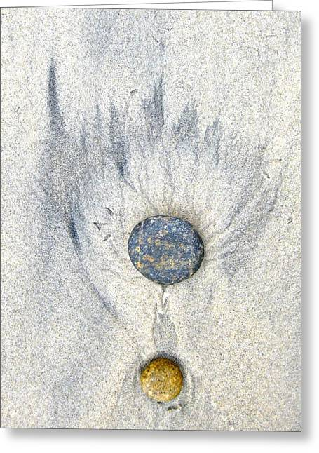 Medallion Greeting Card by Don Ziegler