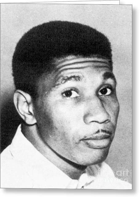Civil Rights Greeting Cards - Medgar Evers (1925-1963) Greeting Card by Granger