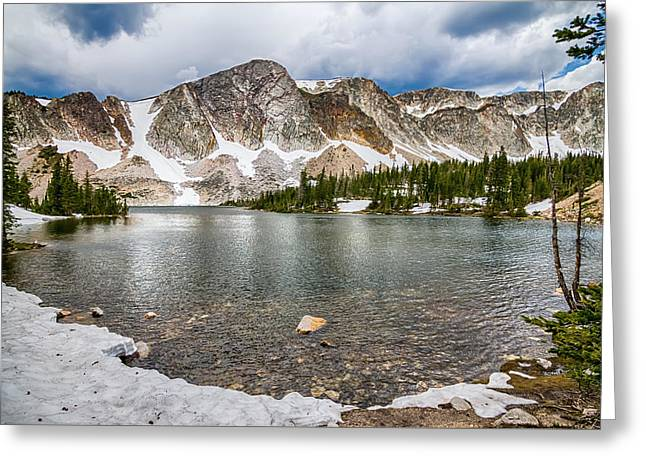 Medicine Bow Lake View Greeting Card by James BO  Insogna
