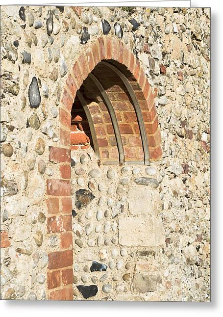 Old Relics Greeting Cards - Medieval arch Greeting Card by Tom Gowanlock