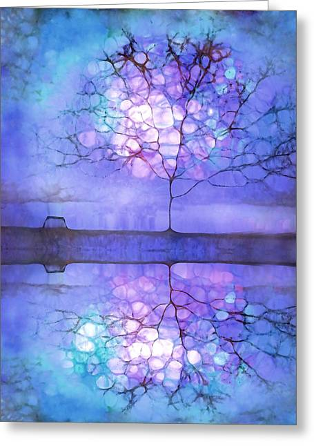 Solace Greeting Cards - Meet Me at Twilight Greeting Card by Tara Turner