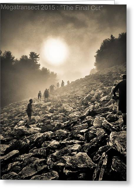 Megatransect 2015 Boulder Field Greeting Card by Christopher Irick