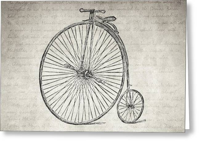 With Love Greeting Cards - Melancholy is Incompatible with Bicycling Greeting Card by Taylan Soyturk