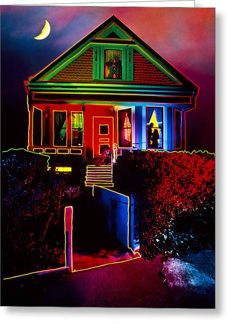 Melinda's House Greeting Card by Garry Gay