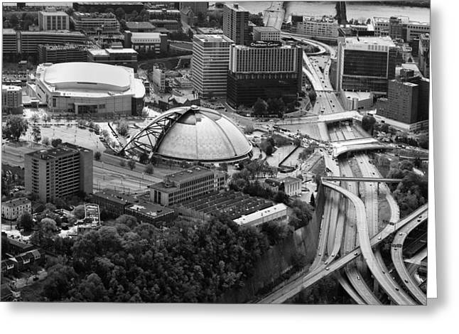 Mellon Arena  Greeting Card by Emmanuel Panagiotakis
