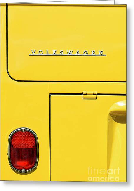 Mellow Yellow Greeting Card by Tim Gainey