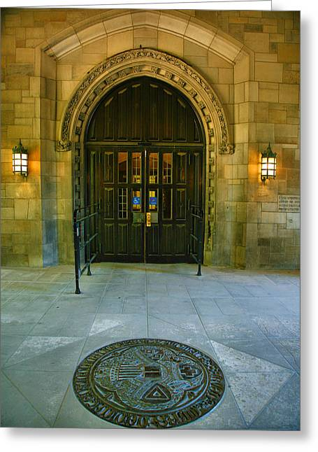 Indiana University Greeting Cards - Memorial Hall I Greeting Card by Steven Ainsworth