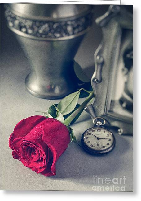 Old Objects Greeting Cards - Memorial Still-live Greeting Card by Carlos Caetano
