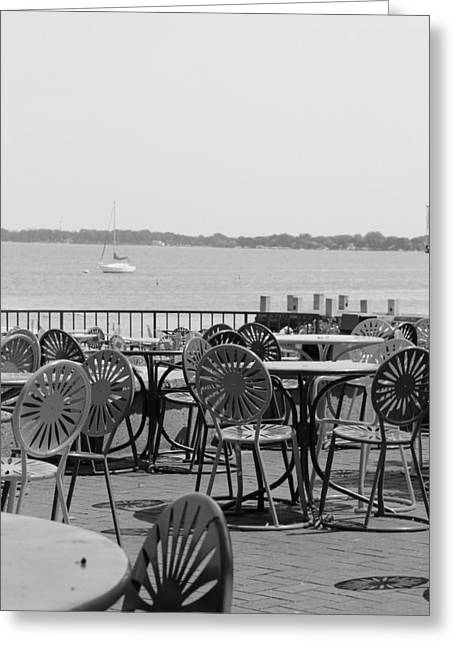 Memorial Union Terrace Greeting Cards - Memorial Union Madison Greeting Card by Douglas Ransom