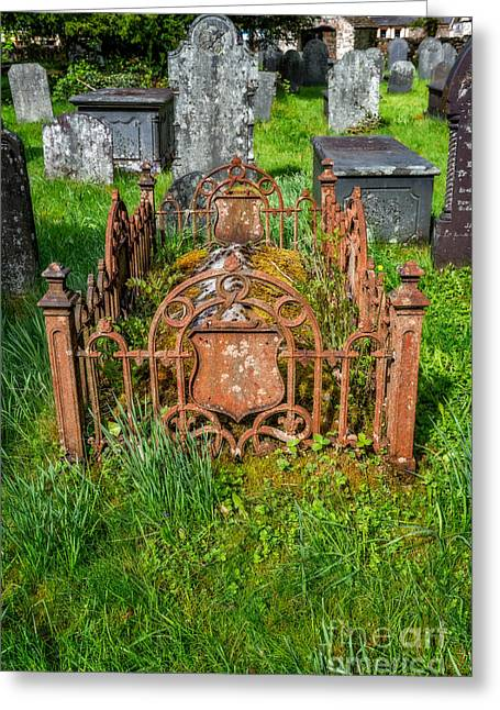 Gravestones Greeting Cards - Memories Greeting Card by Adrian Evans