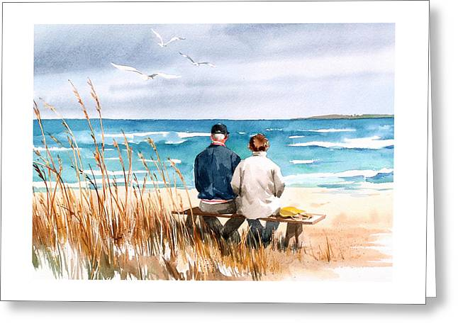 Memories Greeting Card by Art Scholz
