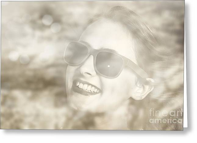 Memories In Reflection Greeting Card by Jorgo Photography - Wall Art Gallery