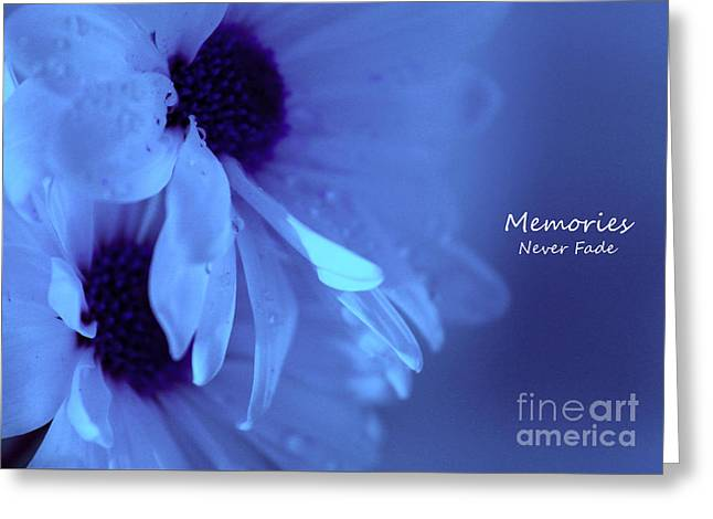 With Love Greeting Cards - Memories Never Fade Greeting Card by Krissy Katsimbras