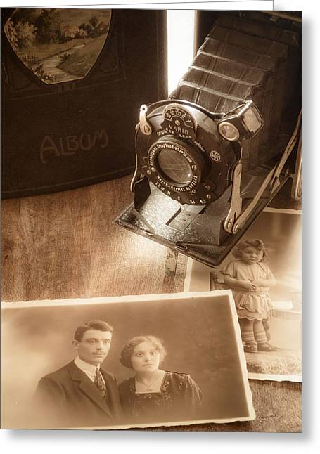 Old Objects Greeting Cards - Memories Greeting Card by Wim Lanclus