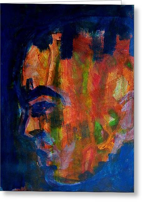 Souls Greeting Cards - Mental Illness Greeting Card by Judith Redman