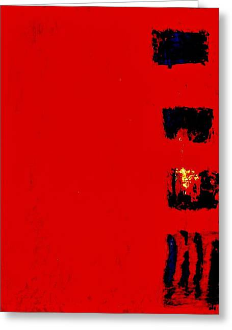 Menu Digital Art Greeting Cards - Menu Greeting Card by Marsha Heiken