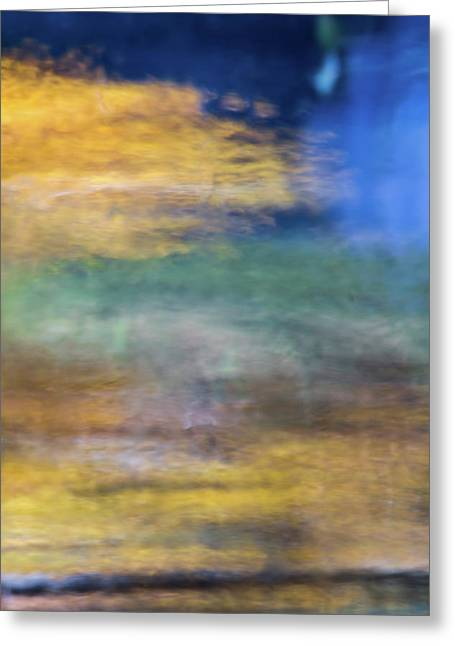 Merced River Reflections 12 Greeting Card by Larry Marshall