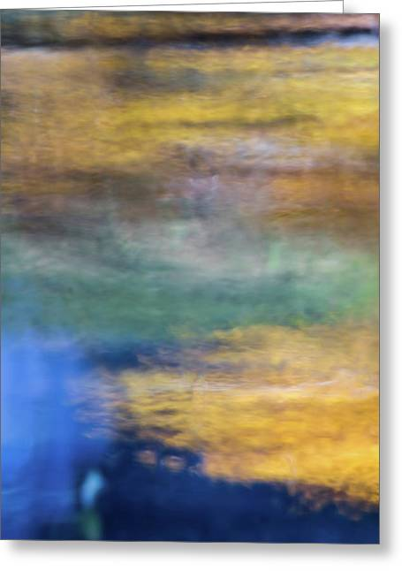 Merced River Reflections 13 Greeting Card by Larry Marshall
