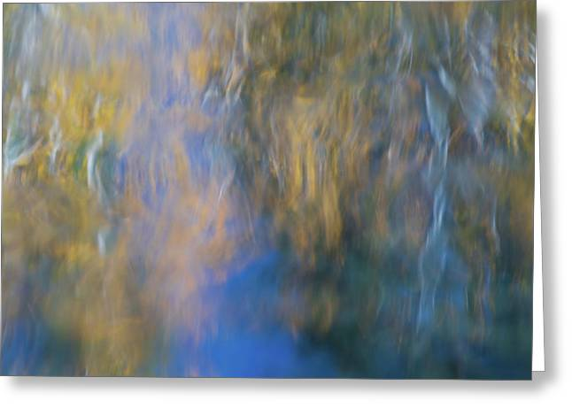 Merced River Reflections 15 Greeting Card by Larry Marshall
